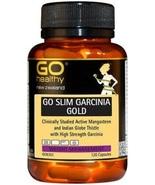 GO Healthy Slim Garcinia Gold 120 Capsules - $87.56