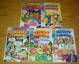 Faculty Funnies #1-5 VF/NM complete series - archie comics set 2 3 4 lot - $36.99