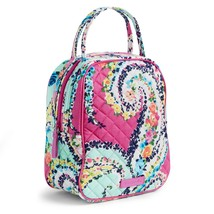 Vera Bradley Quilted Signature Cotton Iconic Lunch Bunch Bag, Wildflower Paisley