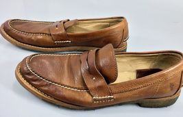 in 80558 Mens Leather Made 5D Mexico Brown Frye Loafers 9 zFqOx770