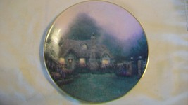 Merritt's Cottage Collectors Plate by Thomas Kinkade Garden Cottages of ... - $33.41