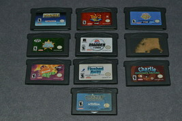 Nintendo Game Boy Advance: 10 Game Lot - $23.00