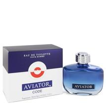 Aviator Code by Paris Bleu Eau De Toilette Spray 3.3 oz for Men #547360 - $34.22