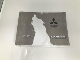 2012 Mitsubishi Outlander Owners Manual OEM Z0N26 - $38.39