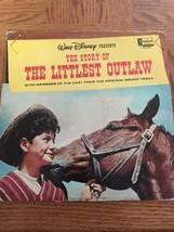 The Story Of The Littlest Outlaw: Walt Disney Album - $33.54
