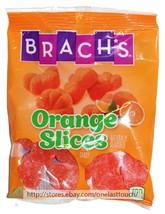 FERRARA 5.25 oz Bag BRACH'S Candy ORANGE SLICES Naturally Flavored NEW E... - $3.23