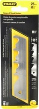 Stanley 11-625 Snap Off Hook Blades 25mm 5 Blades - $7.92