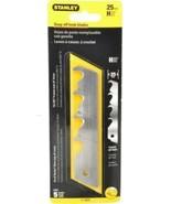 Stanley 11-625 Snap Off Hook Blades 25mm 5 Blades - $7.92