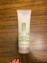 NEW Clinique Rinse-Off Foaming Cleanser Mousse Jumbo Size 8.5 oz / 250 m... - $26.99