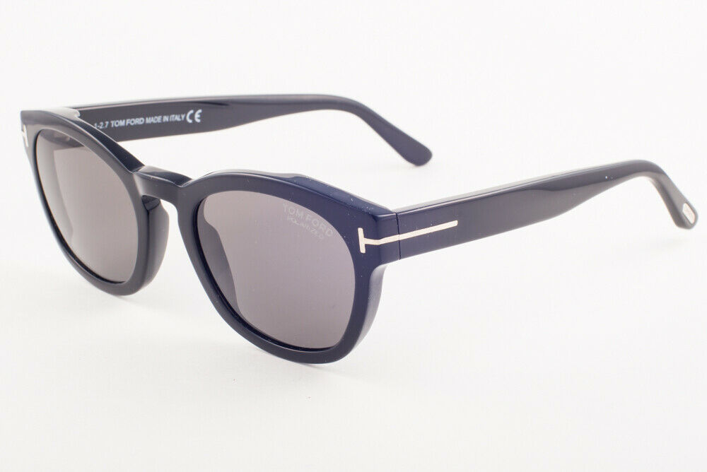 Primary image for Tom Ford BRYAN 590 01D Shiny Black / Gray Polarized Sunglasses TF590-01D 51mm
