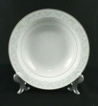 "Serving Vegetable Bowl - Mikasa ""My Love"" L9010 White Gold Trim Floral J... - $16.82"