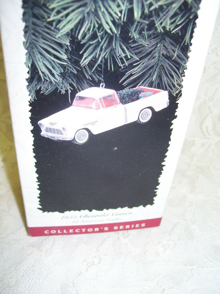 Primary image for HALLMARK ORNAMENT 1957 DODGE PICK UP SWEPTSIDE D100 BOX DATED 1999
