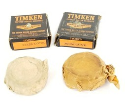 LOT OF 2 NIB TIMKEN 26126-CONE ROLLER BEARING CONES 26126