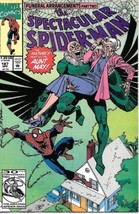 The Spectacular Spider-Man Comic Book #187 Marvel Comics 1992 VERY FN/NEAR MINT - $2.75