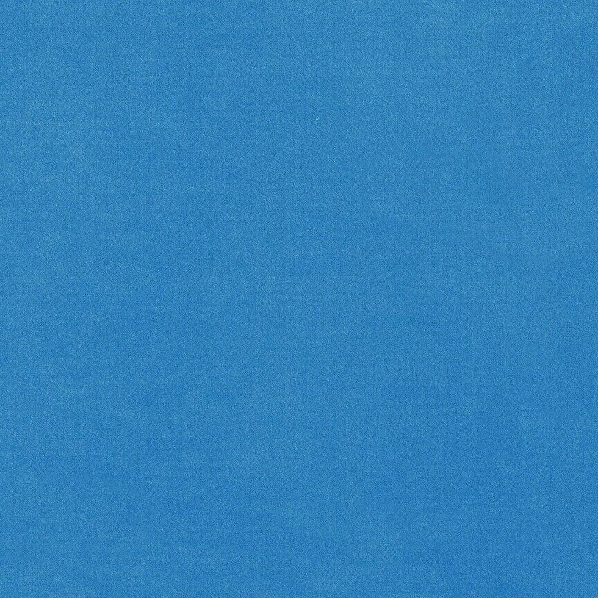 Maharam Upholstery Fabric Cotton Velvet Bright Blue Cyan 466199–020 1.5 yds QW