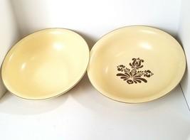 """Pfaltzgraff Village Vintage 12"""" Serving Bowls (2) Old Castle Mark USA - $42.62"""