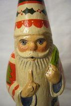 Vaillancourt Folk Art, Wizardly Candy Santa, Signed by Judi Vaillancourt image 5