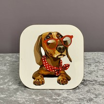 Dachshund Dog Coaster,Gifts For Dog Lovers,Mothers Day Gifts,Sausage Dog,Gifts - $6.80