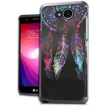 "LG X Power 2 LV7 5.5"" M320 M322 M327 Hybrid Slim Metallic Dream Catch Ca... - $9.82"