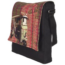 Fatfatiya Classic Taxi Sling Bag - $40.00