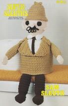 Sam Sleuth, Annie's Attic Crochet Super-Sleuths Pattern Leaflet 87M01 - $3.95