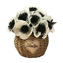 George Jimmy Artificial Flowers Cafe Decoration Table Ornaments-Green - $32.96