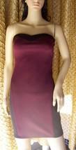 Forever 21 Bodycon S Purple Black Short Dress - $15.47