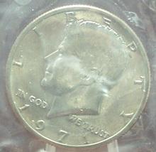 1971-P Kennedy Half Dollar BU In the Cello #0773 - $1.79
