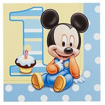 Mickey's 1st Birthday Lunch Napkins (16 count) - $6.88