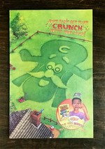 1993 Captain Cruch Crunch Berries Quaker Cereal Full Page Original Color Ad - $6.64