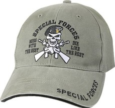 Olive Drab Special Forces Dont Mess with the Best Adjustable Hat - $14.99