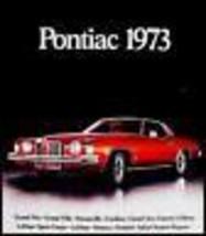 1973 Pontiac Dlx. Brochure Firebird, Trans Am Catalina - $12.87