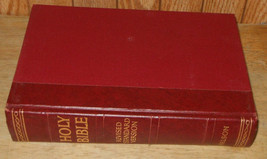 1952 Holy Bible Revised Standard Version Hard Cover Thomas Nelson - $13.54