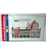 Walthers~949-725~Instant Buildings~Main Street Stores~Background Flats~MIB - $15.00