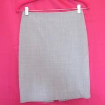 victoria's secret sexy grey gray stretch pencil skirt size 0 xs extra small - $24.74
