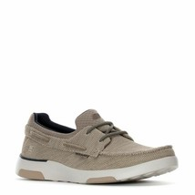 SKECHERS BELLINGER LONE LOW TRAINERS SPORTS SNEAKERS MEN SHOES TAUPE SIZ... - $69.29