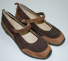 Jambu Womens Shoes Size 8 M Formosa Brown Suede Leather Mary Jane Comfort 8M  - $34.60