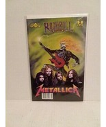 METALLICA: ROCK N ROLL COMICS #2 - RARE - FREE SHIPPING - $18.70