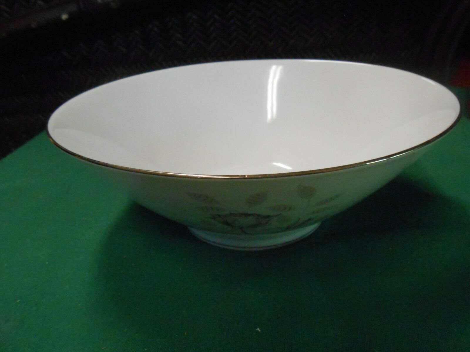 Primary image for  Magnificent ROSENTHAL Germany PEACH BROWN-GRAY ROSE ...Serving BOWL 8.5""