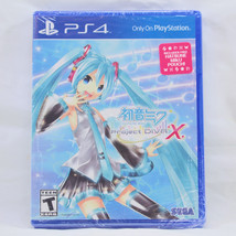 BRAND NEW & SEALED - Hatsune Miku Project Diva X Game w/Pouch Playstatio... - $37.13