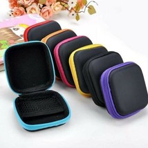 Fashion Mini Zipper Earphone Headphone SD Card Bag Storage Box Key Walle... - $8.99