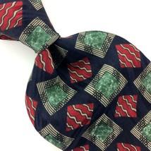 ZYLOS GEORGE MACHADO US TIE GEOMETRIC Red BLUE Silk Necktie Mens Ties I1... - $15.83