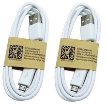 Pack of 2 Original Micro USB Charger Data Cable Samsung Galaxy s2 S4 S3 ... - $5.99