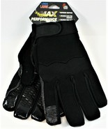 Midwest Gloves Max Performance Work Glove LARGE Lined Superior Grip New - $13.85