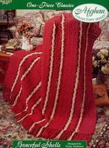 Crochet Pattern - Graceful Shells - The Needlecraft Shop - One-Piece Classics - $3.75
