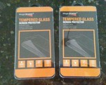 Lot of TWO Curved Tempered Glass Screen Protectors for Samsung Galaxy Note 7