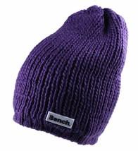 Bench Femmes Petunia Violet Jayme Tricot Acrylique Bonnet Souple Hiver Chapeau image 1