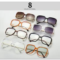 Oversized Eyeglasses Frame Women Men Square Glasses Clear Lens Sunglasses Frame  image 6