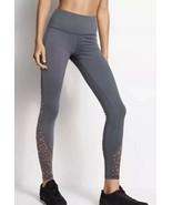 Victoria's Secret Sport Knockout Tight Gray Leopard Mesh Cut Out Legging... - $31.68
