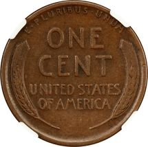 1914-S 1c NGC VF20 BN - Lincoln Cent image 4